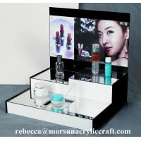 Wholesale High grade table top acrylic cosmetic display stand from china suppliers
