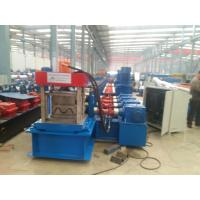 Wholesale W Profile Gearbox Control Fast Way Gardrail Roll Forming Machine With Auto Cutting For 3.5mm Thickness HR Sheet from china suppliers
