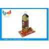Food Packaging Shrink Wrap Bottle Labels PVC PET Material For Wine Bottles for sale