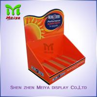 Wholesale Retail Store Small Pop up Paper Counter Table Display Sun Cream PDQ Counter Top Display from china suppliers