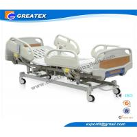 Wholesale Anti - rust Steel 5 Function Electric hospital Bed With CPR , X - RAY , Central Brakes from china suppliers