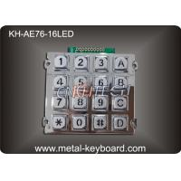 Wholesale 16 Keys Backlit Vandal Proof Access Keypad,  Metal Numeric Keypad from china suppliers
