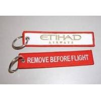 Wholesale Etihad Airways Remove Before Flight Keychain from china suppliers