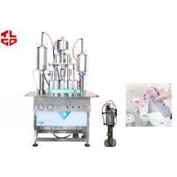 Wholesale Car Air Freshener Spray Filling Machine , Automatic Aerosol Filling Machine from china suppliers