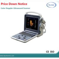Quality Price Down 12' high-resolution LED monitor Color Doppler Ultrasound Scanner for sale