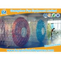Wholesale Commercial Polyether TPU Jumbo Inflatable Water Roller Inflatable water ball with CE from china suppliers