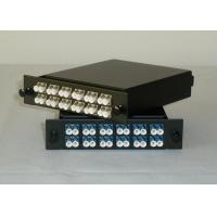 Wholesale Simplex / Duplex LC MPO Fiber Optic Cassette Patch Panel With RoHS / SGS from china suppliers