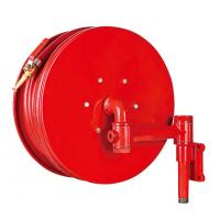Wholesale Red Fire Hose Reel And Cabinet Automatic / Manual Swinging Fire Water Hose from china suppliers