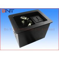 Wholesale Commercial Compact Table Cable Cubby , Slip Up Conference Table Connectivity Box from china suppliers