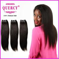 Buy cheap Top Quality 8a grade Peruvian  Virgin Remy Straight Human Hair weave from wholesalers