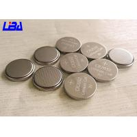 Wholesale High Energy Density 3 Volt Lithium Battery , Customized Lithium Coin Cell Battery from china suppliers