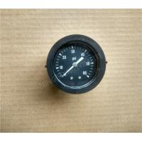 "Wholesale 1.5"" Back Entry Standard Pressure Gauge with Plastic Case Black Color from china suppliers"
