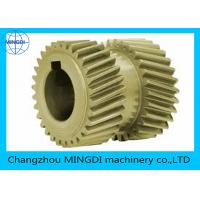 Wholesale Customized Steel / Bronze Double Helical Gear For Agriculture Machine from china suppliers