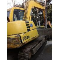 Wholesale PC60-7 komatsu used excavator for sale excavators digger from china suppliers