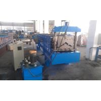 Wholesale Hydraulic Metal Roofing Machines , Gutter Making Machine Wall Board Structure from china suppliers