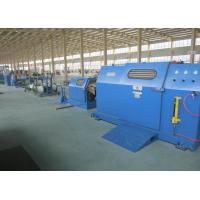Wholesale Sky Blue 3Pcs Core Wire / cable braiding machine With 700Rpm Stable Rotation from china suppliers