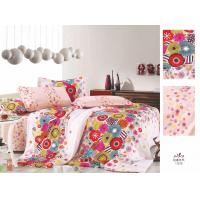 Wholesale OEM Red Floral Printed Custom 100 % Cotton Home Colorful Bed Sheet Set from china suppliers