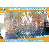 Wholesale Commercial Interesting Grow Inflatable Zorb Ball , Human Inflatable Hamster Ball For Pool from china suppliers