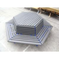 Wholesale Waterproof recycled plastic plank chair wood plank chair wood barcelona chair 80*40 RMD-76 from china suppliers