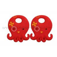 Wholesale Food Grade Octopus Design Silicone Baby Teether Natural Teething Toys Eco - friendly from china suppliers