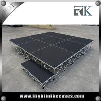 Wholesale Aluminum Stage Outdoor Concert Used Portable Stage Mobile Stage For Sale from china suppliers