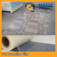 Wholesale Self Adhesive Carpet Protector Film , Transparent Plastic Carpet Film Protector from china suppliers