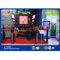 Quality Standing Vr Gaming Platform , Gun Shooting Simulator For Amusement for sale