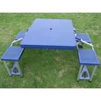 Wholesale Fashion Full Color ABS Folding Camping Table And 4 Stools / Small PP Chiars from china suppliers