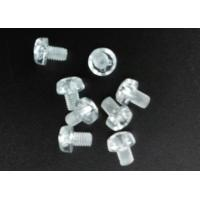 Quality Clear Plastic Phillips Round Head Metric Micro Screws For Electronics M3 X 5 for sale