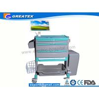 Wholesale Medical computer cart , doctor work station laptops trolley with silent wheel (QNT-6203B) from china suppliers