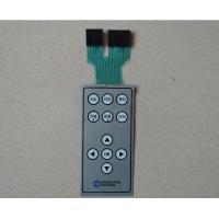 Wholesale Light Weight Small Dustproof Push Button Membrane Switch With Two Connector from china suppliers