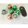 Buy cheap Aluminum Nespresso Capsule Housings, Aluminum Capsule Cups+Aluminum Lids from wholesalers