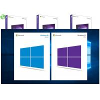 Wholesale OEM Software Microsoft Windows 10 Pro Pack 64 Bit Retail Box Genuine Key from china suppliers