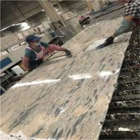Wholesale Blue Apollo Gold Polished Marble Slabs Low Radiation Stone Material from china suppliers