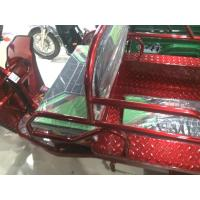 Wholesale Red / Green / Golden 48V 650W Open Electric Cargo Trike With Driver Ceiling from china suppliers