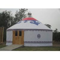 Wholesale Luxury Waterproof Mongolian Yurt Tent Aluminum Frame Structural Heavy Duty from china suppliers
