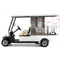 Buy cheap 48V Battery Operated Golf Beverage Cart , Golf Cart Food Cart With Refrigerator from wholesalers