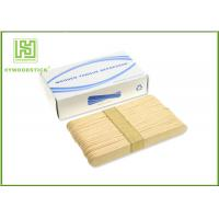 Wholesale Adult / Children Sterile Wooden Tongue Depressor In Bulk 150 * 18 * 1.6mm Size from china suppliers