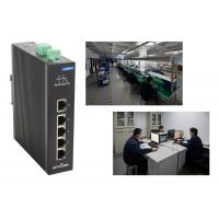 Wholesale Level -4 Megabit T ( X ) 5 Port Network switch 1gbps Din rail installed from china suppliers