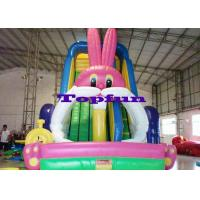 Wholesale Big White Rabbit Inflatable Water Slide from china suppliers