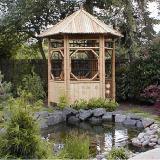 Buy cheap Assembled Bamboo Gazebo from wholesalers