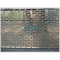 Wholesale Professional factory export Perforated metal security fence,decorative fencing from china suppliers