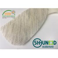 Needle Punch Felt Sleeve Heads Fabric With Canvas For Uniform And Suit