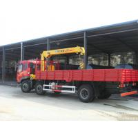 Wholesale FAW truck crane -5 Tons Crane Truck  GwW 25 T  LHD /RHD righ hand drive  sale from china suppliers