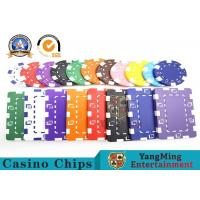 Wholesale Customized 12g ABS Material Sticker Casino Poker Chips Jeton Yangming from china suppliers