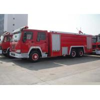 Wholesale 6X4 LHD Water Foam Pumper Rescue Fire Truck from china suppliers