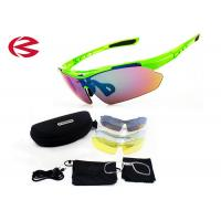 Wholesale Customized Interchangeable Lens Sunglasses , Outdoor Sport Cycling Glasses from china suppliers