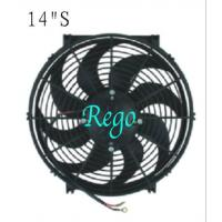 Wholesale Automobile Car Universal Radiator Cooling Fan High Performance Straight Blade from china suppliers
