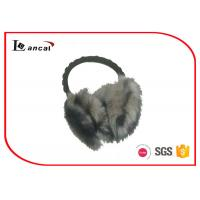 Wholesale Black Decorative Bead Winter Ear Muffs Bead Ear Warmers For Women from china suppliers