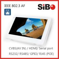 Wholesale Automation Controlling 7 Inch Android 6.0.1 OS Rooted Wall Mount Tablet DC IN or POE Powering from china suppliers